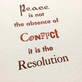 Peace & Resolution