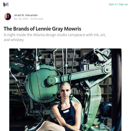The Brands of Lennie Gray Mowris